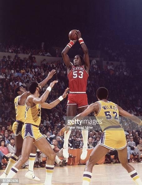 Philadelphia 76ers Darryl Dawkins, 1980 NBA Finals Pictures | Getty Images
