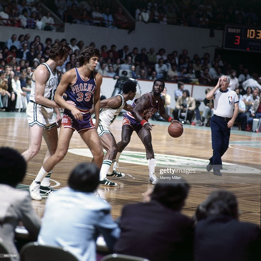 Boston Celtics vs Phoenix Suns 1976 NBA Finals