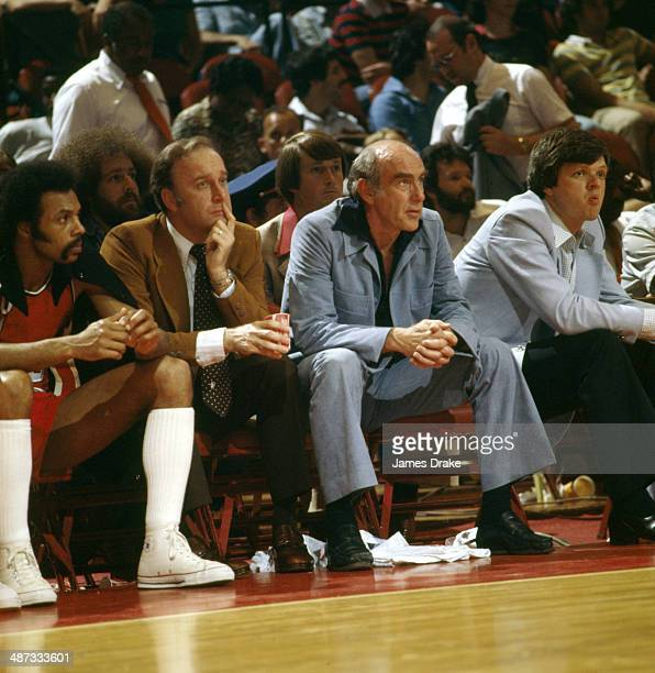 Blazers Head Coach: Jack Ramsay Coach Stock Photos And Pictures