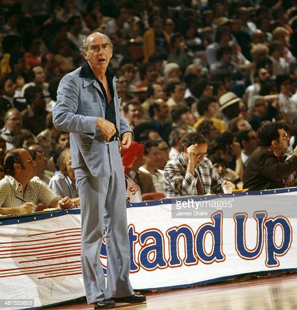 Portland Trail Blazers Coach: Jack Ramsay Coach Stock Photos And Pictures