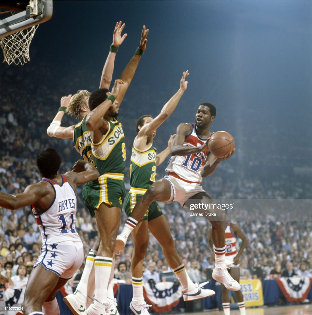 Washington Bullets vs Seattle SuperSonics