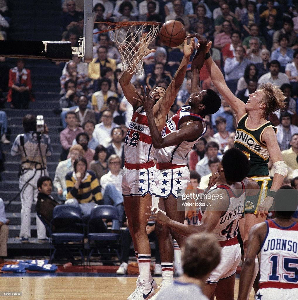 Washington Bullets Greg Ballard and Bob Dandridge 1979 NBA Finals