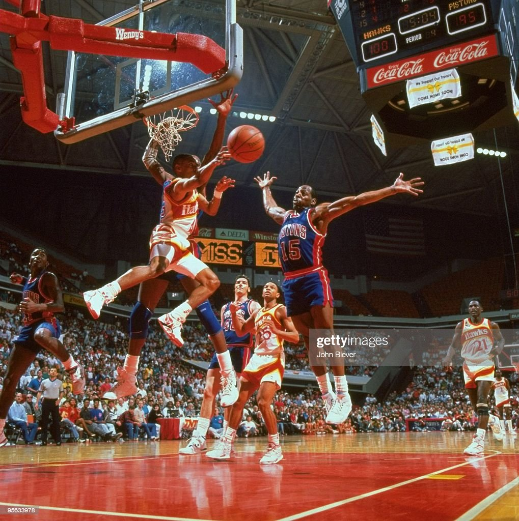 Atlanta Hawks Spud Webb 1991 NBA Eastern Conference First Round