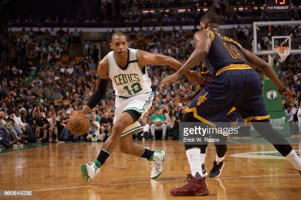 NBA Playoffs Boston Celtics Al Horford in action vs Cleveland Cavaliers at TD Garden Game 2 Boston MA CREDIT Erick W Rasco