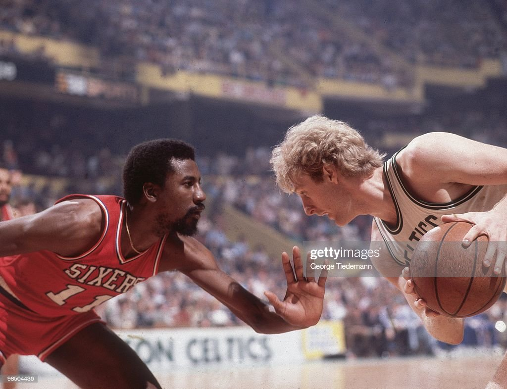 Boston Celtics vs Philadelphia 76ers 1980 NBA Eastern Conference