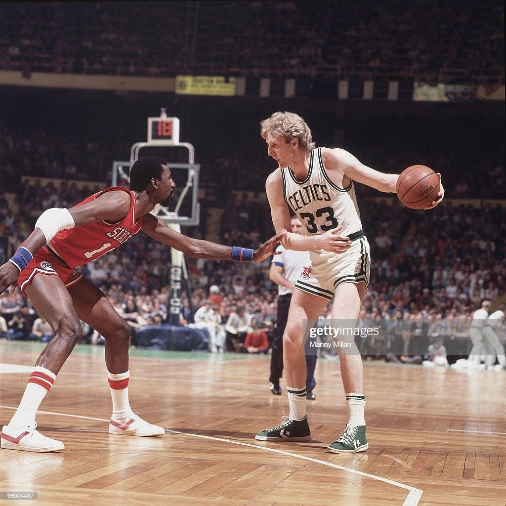 Boston Celtics vs Philadelphia 76ers 1981 NBA Eastern Conference