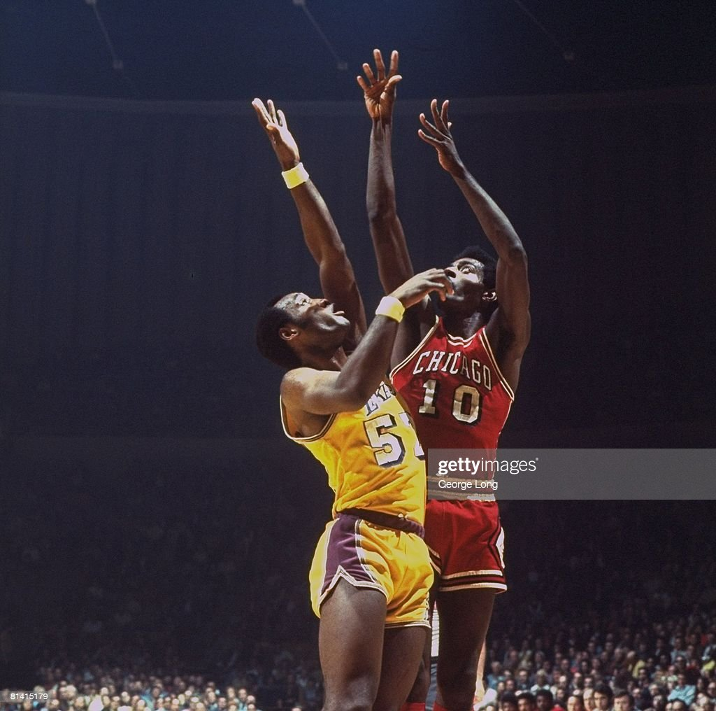 Chicago Bulls Bob Love 1972 NBA Playoffs