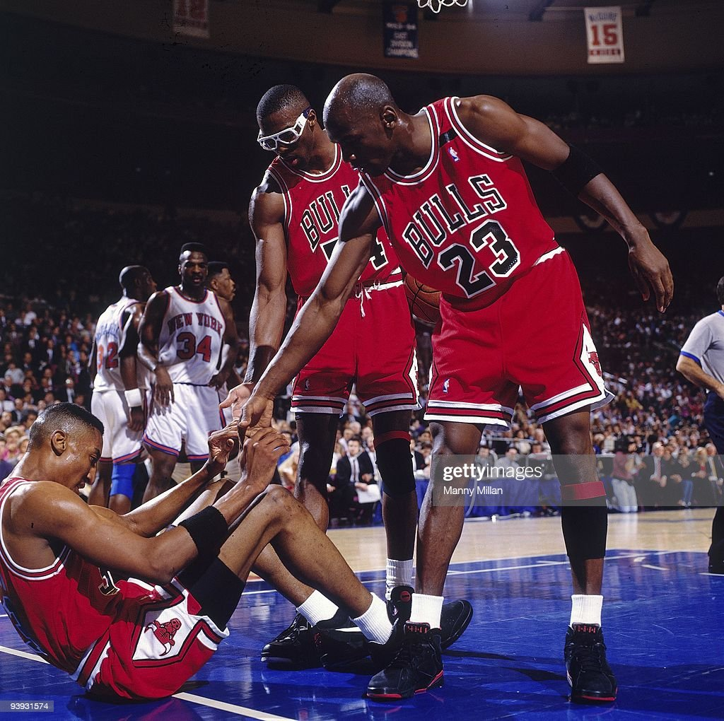 New York Knicks vs Chicago Bulls 1992 NBA Eastern Conference