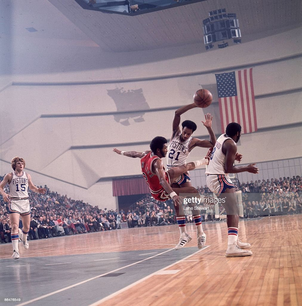 Detroit Pistons Dave Bing 1974 NBA Western Conference Semifinals