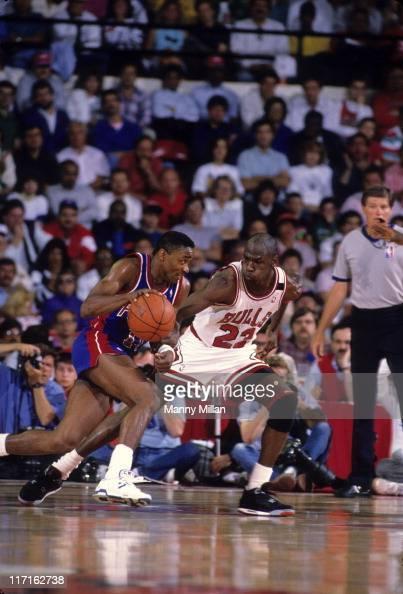 Chicago Bulls vs Detroit Pistons, 1989 NBA Eastern ...