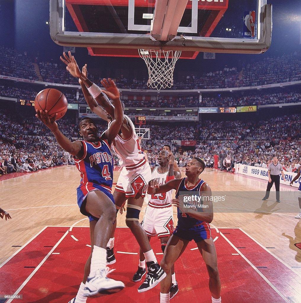 Detroit Pistons Joe Dumars 1989 NBA Eastern Conference Finals