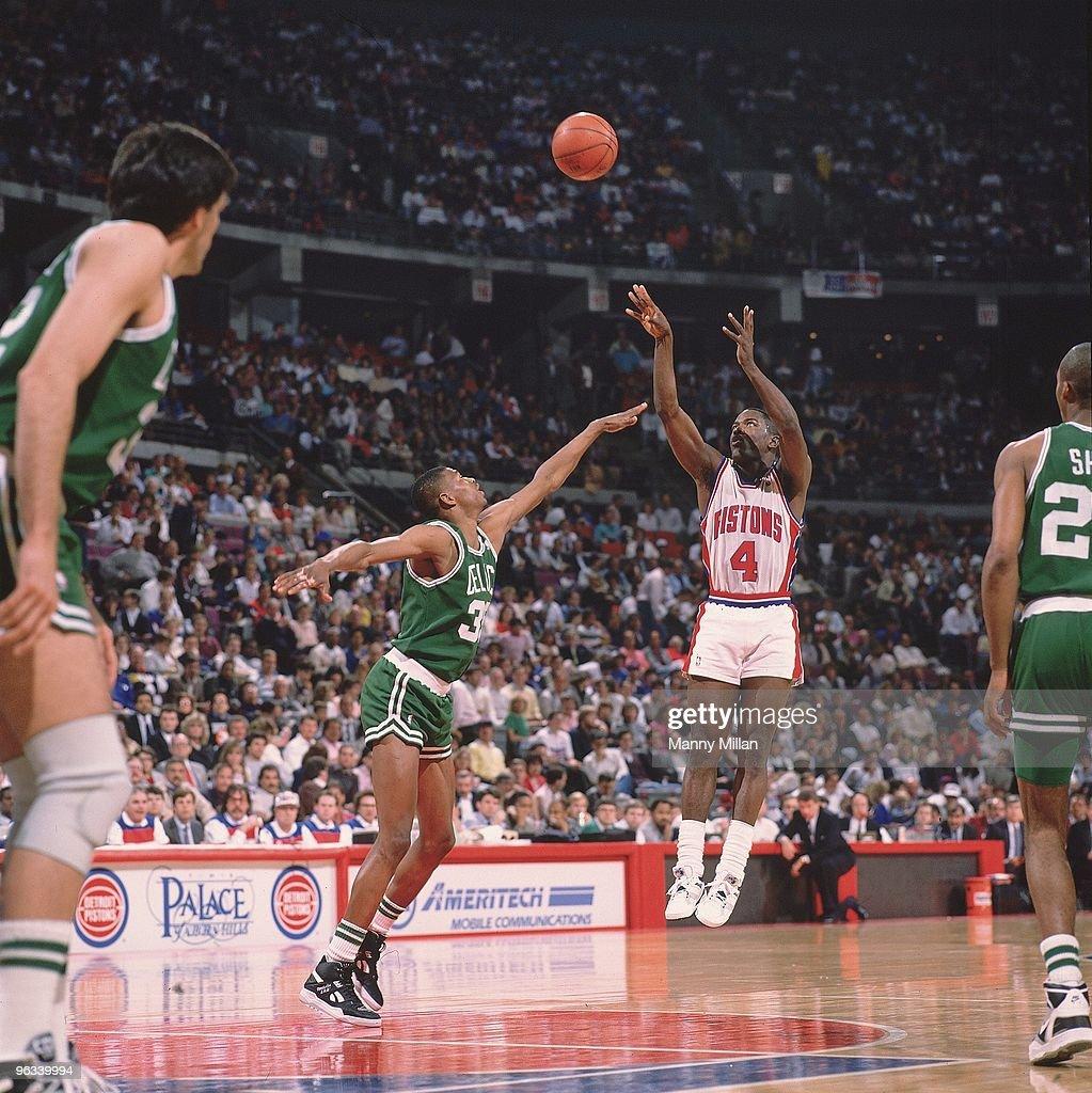 Detroit Pistons Joe Dumars 1989 NBA Eastern Conference Playoffs