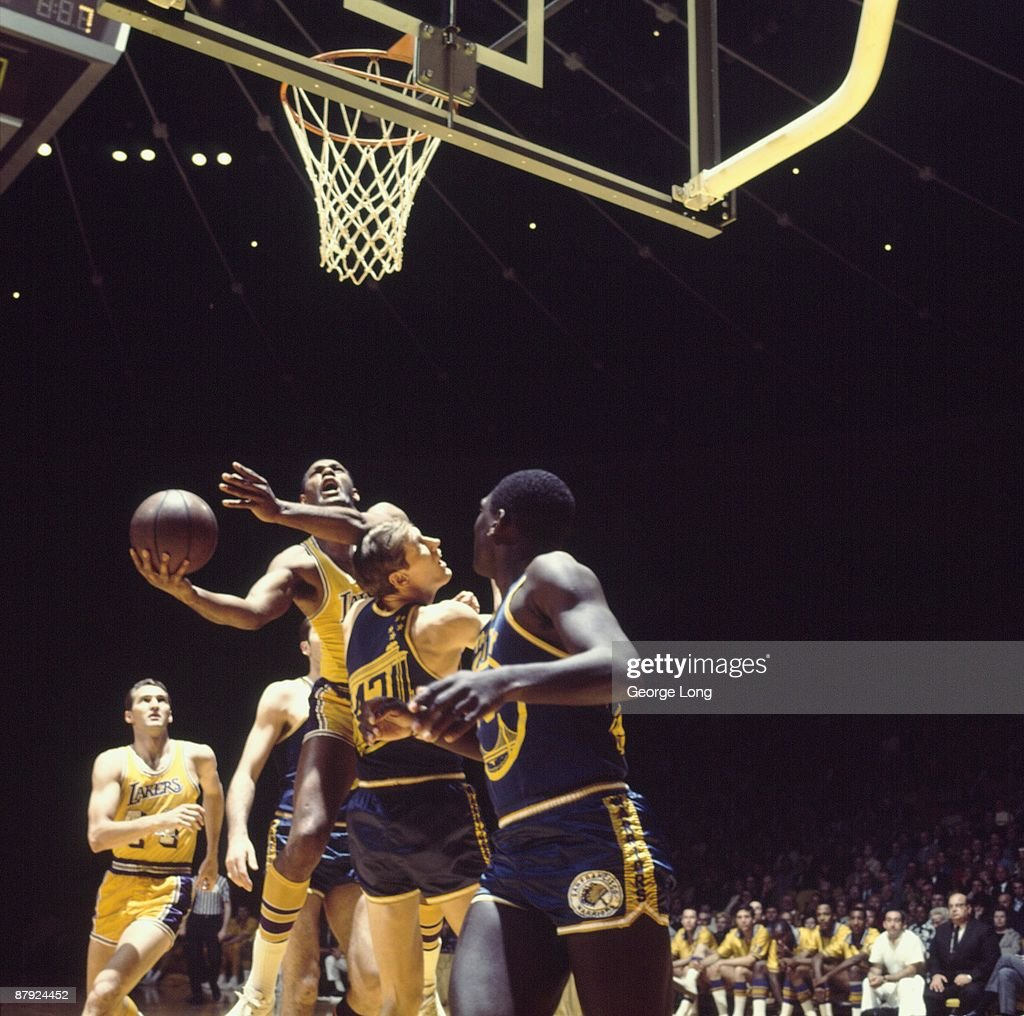 Los Angeles Lakers Elgin Baylor 1968 NBA Western Conference