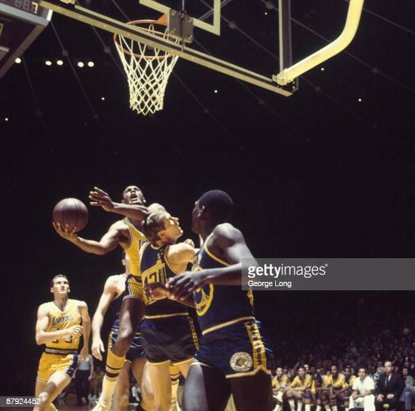 Los Angeles Lakers Elgin Baylor, 1968 NBA Western ...