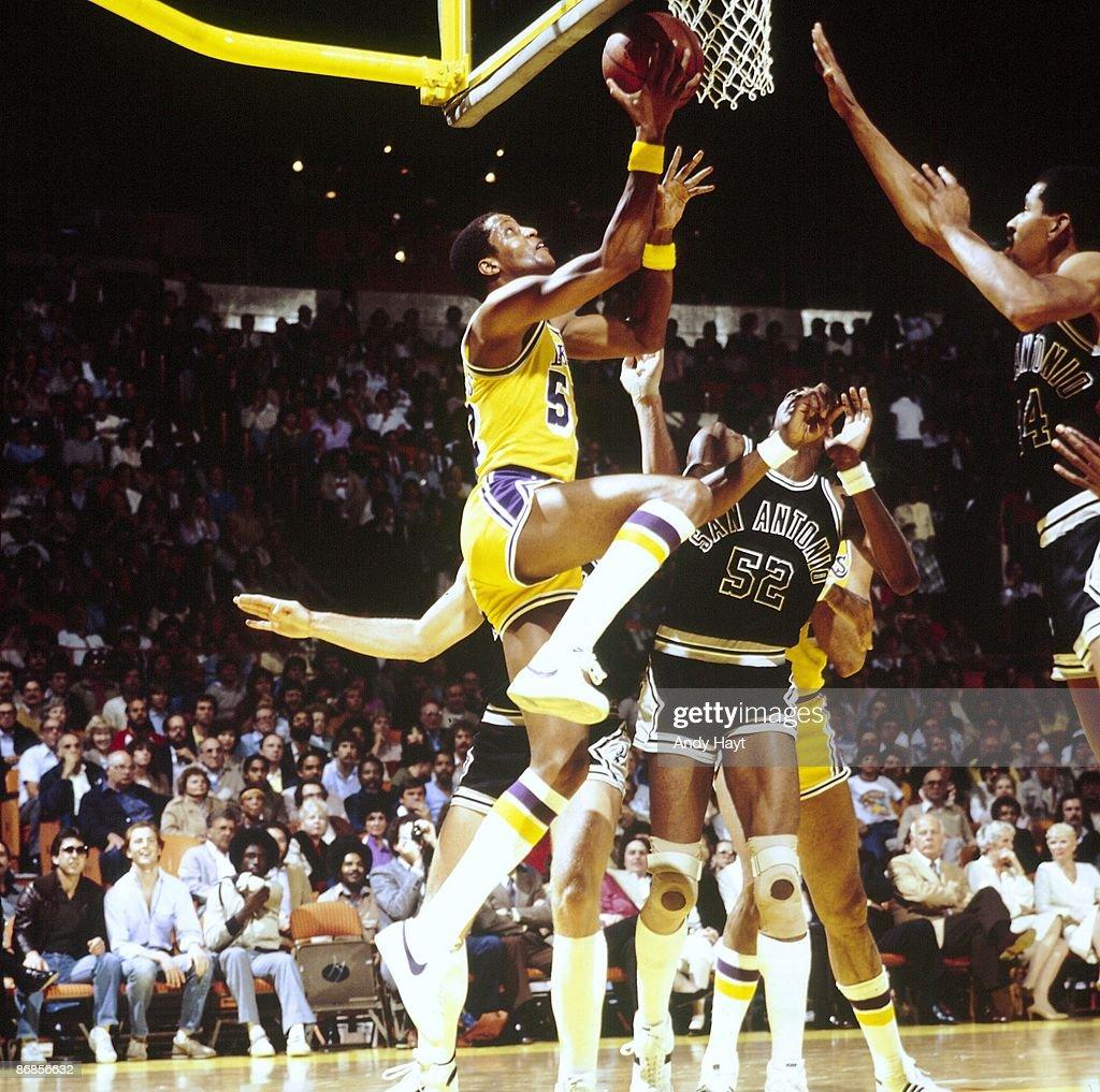 Los Angeles Lakers Jamaal Wilkes 1982 NBA Western Conference