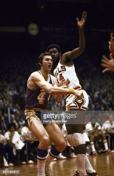 Chicago Bulls vs Los Angeles Lakers, 1973 NBA Western ...