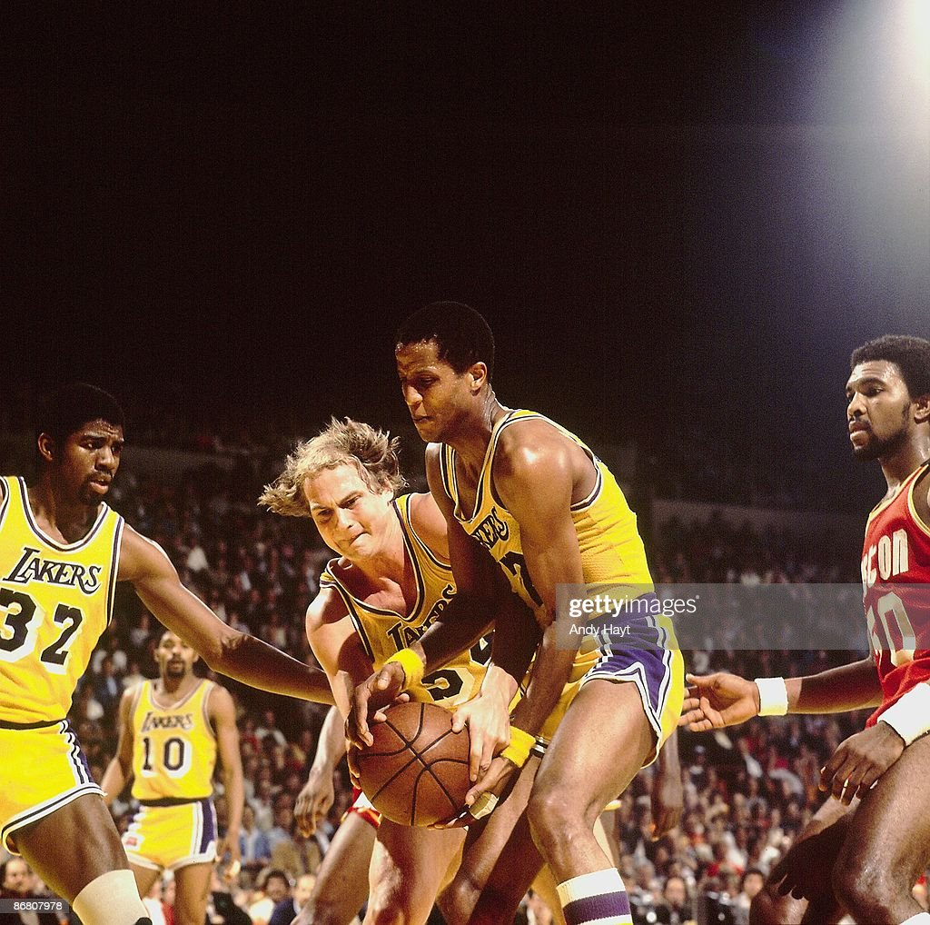 Los Angeles Lakers vs Houston Rockets 1981 NBA Western Conference