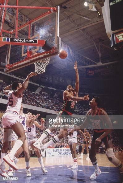 Milwaukee Bucks Marques Johnson, 1983 NBA Eastern ...