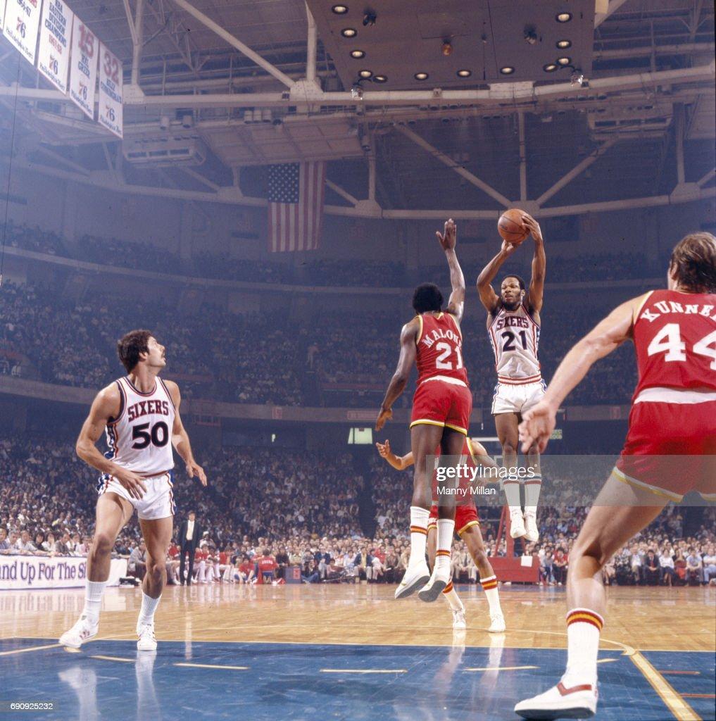 Philadelphia 76ers vs Houston Rockets 1977 NBA Eastern Conference