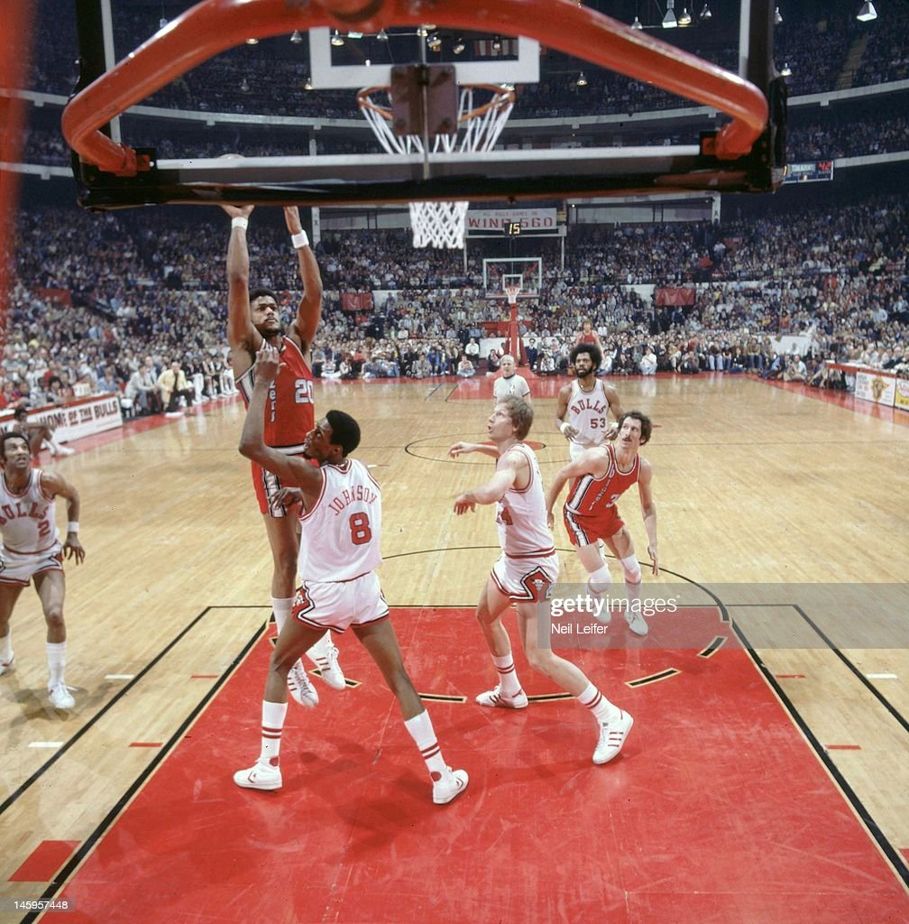 Chicago Bulls vs Portland Trail Blazers 1977 NBA Western