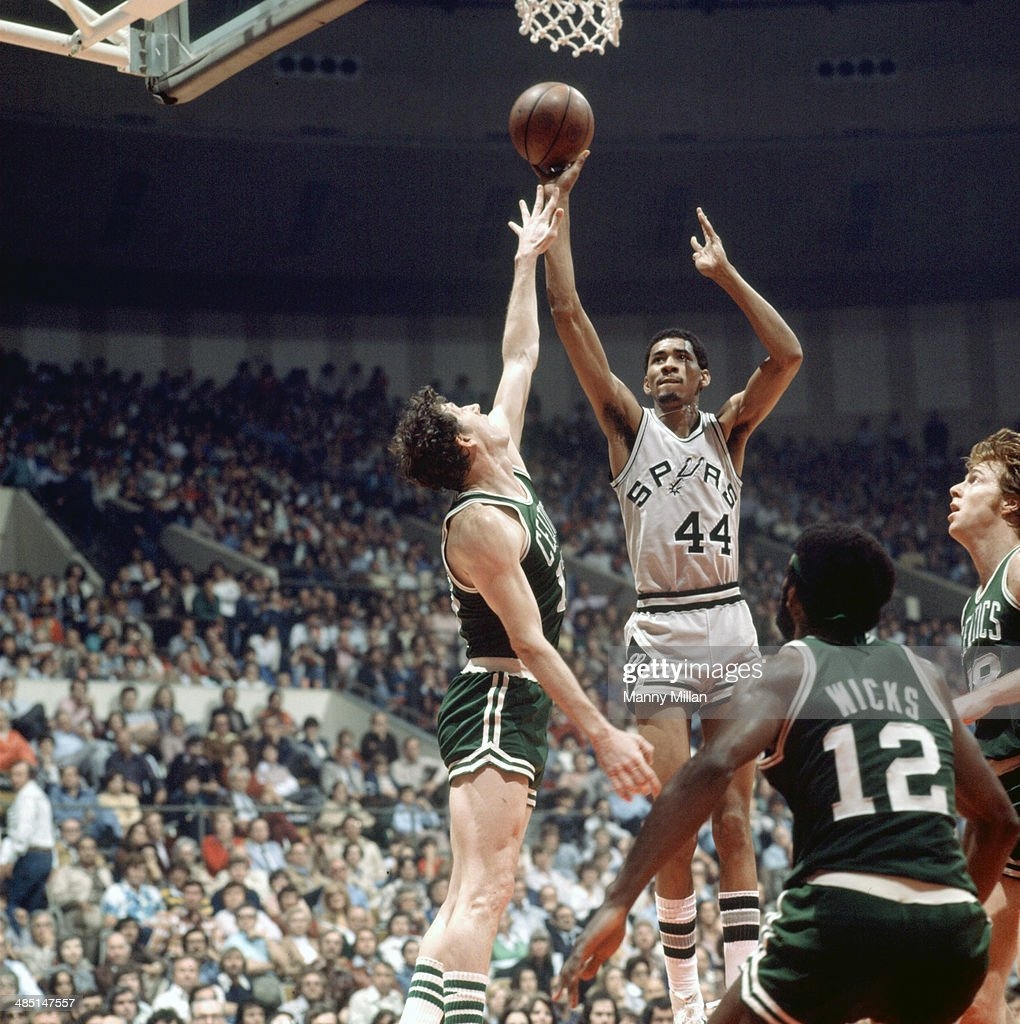 San Antonio Spurs vs Boston Celtics 1977 NBA Eastern Conference