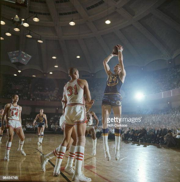 San Francisco Warriors Rick Barry, 1967 NBA Western
