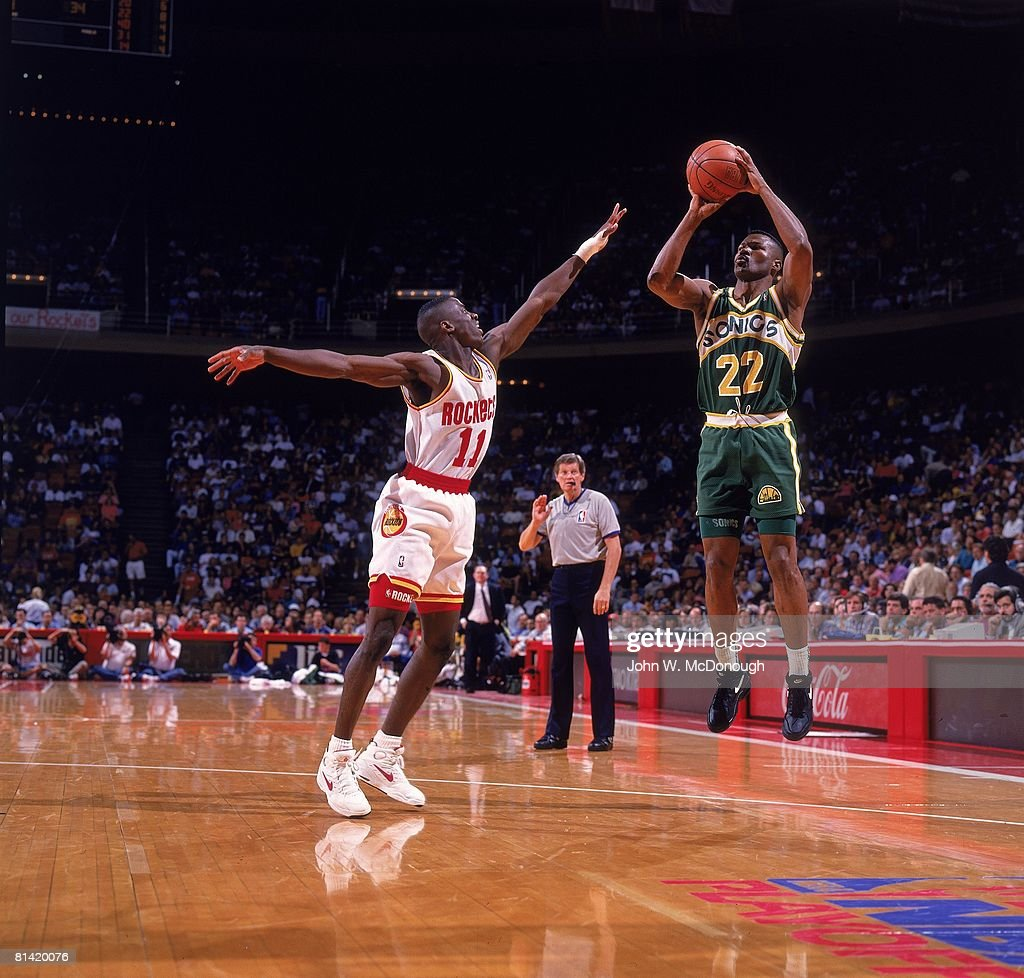 Seattle SuperSonics Ricky Pierce 1993 NBA Western Conference