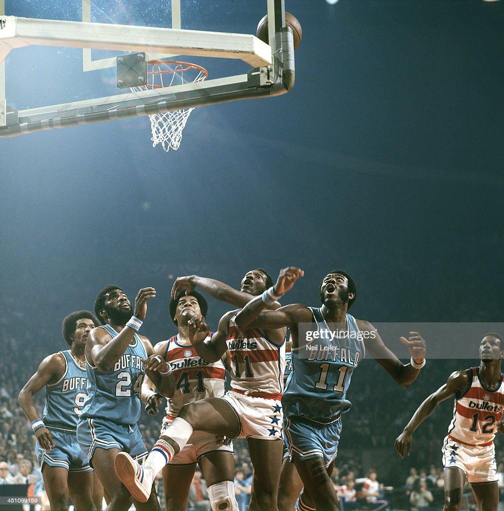 Buffalo Braves vs Washington Bullets 1975 NBA Eastern Conference