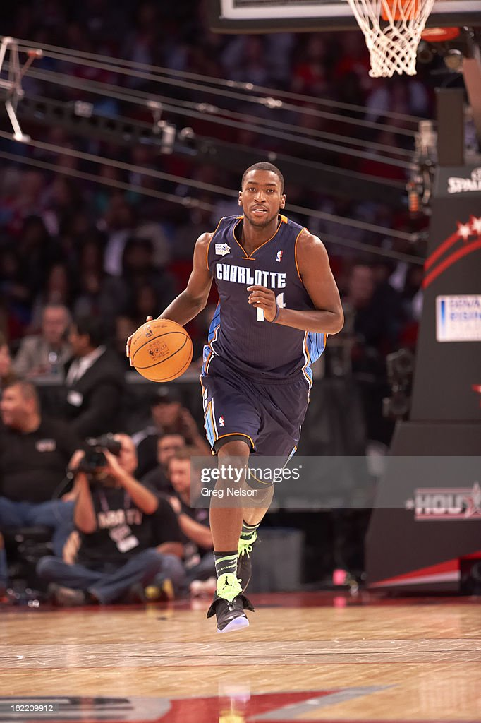 Charlotte Bobcats Michael Kidd-Gilchrist (14) in action during All-Star Weekend at Toyota Center. Greg Nelson F106 )