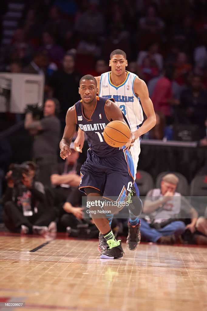 Charlotte Bobcats Michael Kidd-Gilchrist (14) in action during All-Star Weekend at Toyota Center. Greg Nelson F123 )