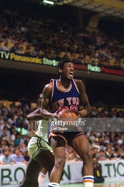 New York Knicks Bernard King in action vs Boston Celtics at Boston Garden Game 5Boston MA 4/29/1984CREDIT Carl Skalak