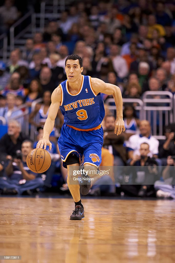New York Knicks Pablo Prigioni (9) in action vs Orlando Magic at Amway Center. Greg Nelson F76 )