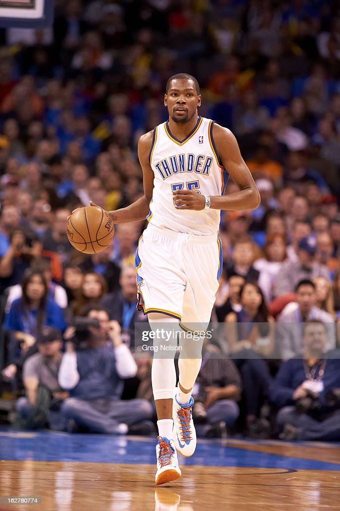 Oklahoma City Thunder Kevin Durant (35) in action vs Chicago Bulls at Chesapeake Energy Arena. Greg Nelson F25 )