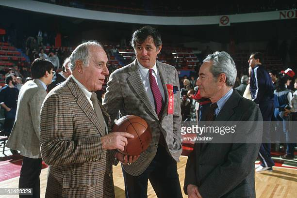 Old Timers Night Boston Celtics general manager Red Auerbach Sports Illustrated writer Frank Deford and former Sports Illustrated executive editor...