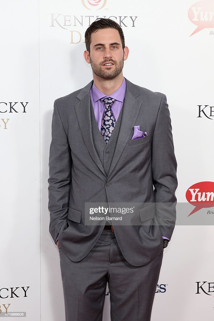 Basketball playe Luke Hancock attends the 141st Kentucky Derby at Churchill Downs on May 2, 2015 in Louisville, Kentucky.