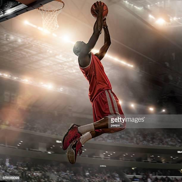 Joueur de basket-ball Action