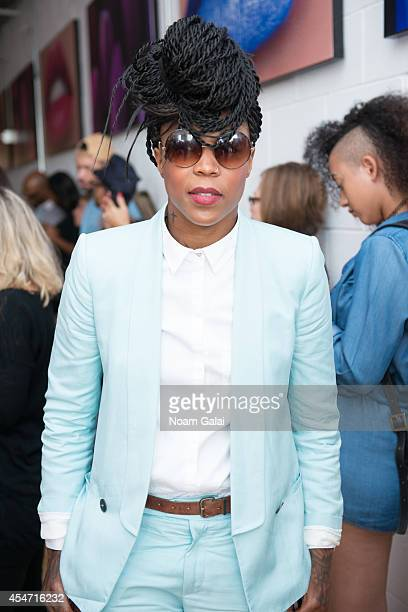 Basketball player Cappie Pondexter attends the 531 Jerome Presentation as part of the MercedesBenz Fashion Week on September 5 2014 in New York City