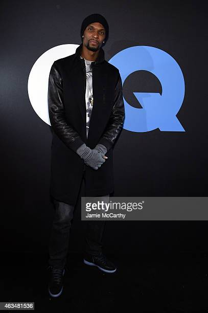 Basketball player Chris Bosh attends GQ and LeBron James Celebrate AllStar Style on February 14 2015 in New York City
