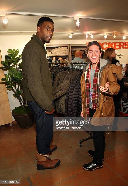 Basketball player Chris Webber attends The Variety Studio At Sundance Presented By Dockers on January 25 2015 in Park City Utah