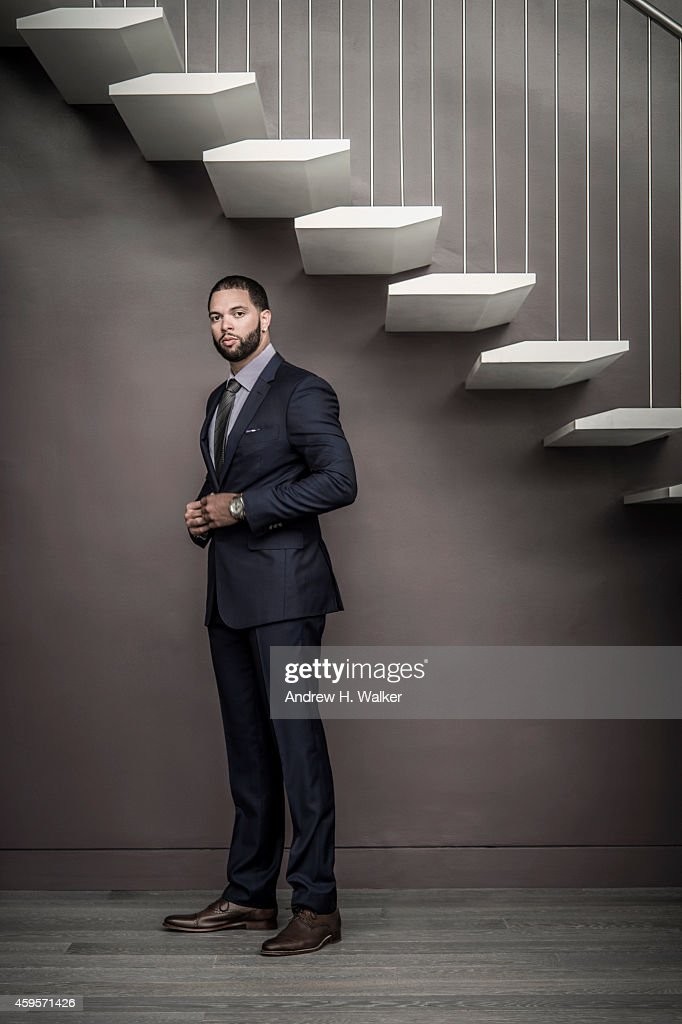 Basketball player <a gi-track='captionPersonalityLinkClicked' href=/galleries/search?phrase=Deron+Williams&family=editorial&specificpeople=203215 ng-click='$event.stopPropagation()'>Deron Williams</a> is photographed for Resident Magazine on July 15, 2014 in New York City.