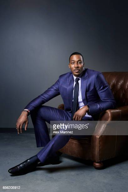 Basketball player Dwight Howard is photographed for Modern Luxury Men's Book Atlanta on January 14 2017 in Atlanta Georgia COVER IMAGE