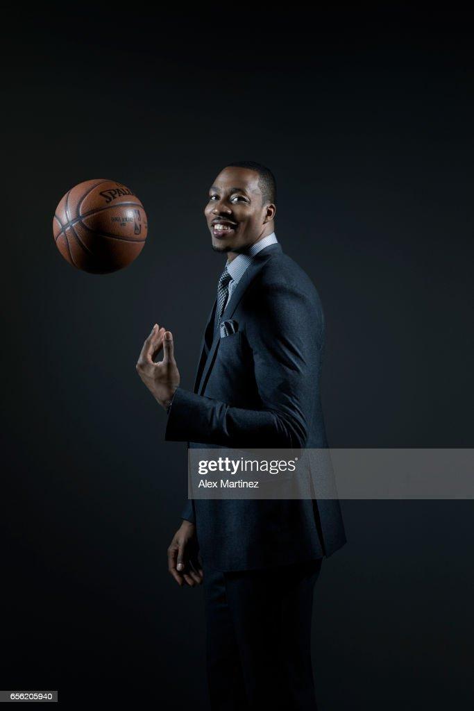 Basketball player Dwight Howard is photographed for Modern Luxury Men's Book Atlanta on January 14, 2017 in Atlanta, Georgia.