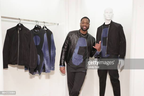 Basketball player Dwyane Wade attends Saks Fifth Avenue Celebrates the Exclusive Launch of The Dsquared2 x Dwyane Wade Capsule Collection at Saks...