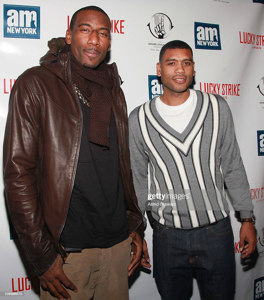 New York Knick Amar e Stoudemire s Wel e To New York Party