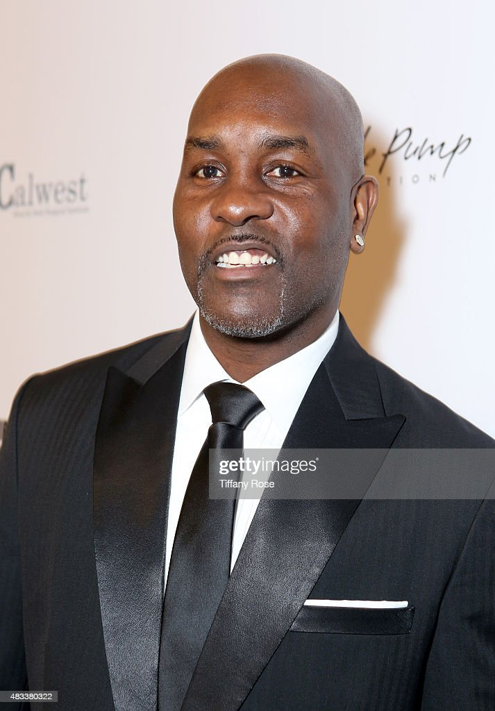 Basketball Player Gary Payton attends the 15th annual Harold & Carole Pump Foundation gala at the Hyatt Regency Century Plaza on August 7, 2015 in Century City, California.