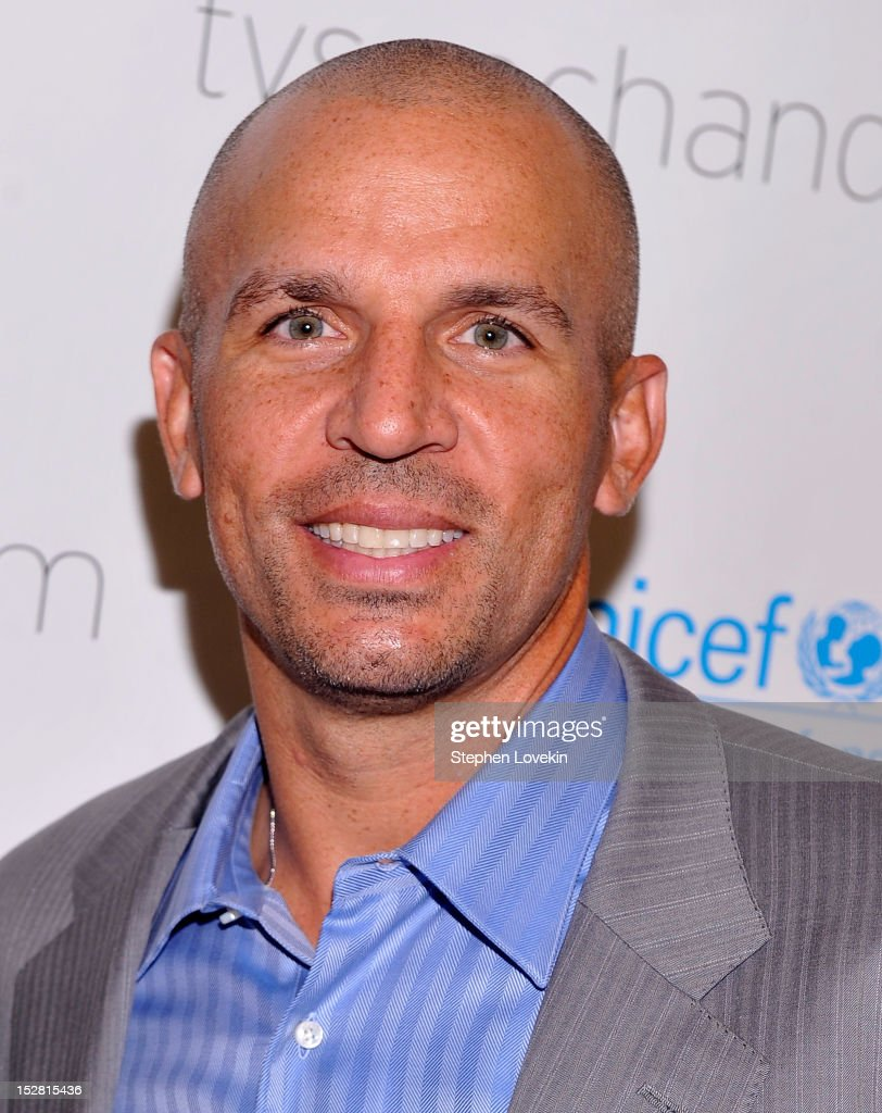 NBA basketball player <a gi-track='captionPersonalityLinkClicked' href=/galleries/search?phrase=Jason+Kidd&family=editorial&specificpeople=201560 ng-click='$event.stopPropagation()'>Jason Kidd</a> attends the 'A Year In A New York Minute' photo exhibition at Canoe Studios on September 26, 2012 in New York City.