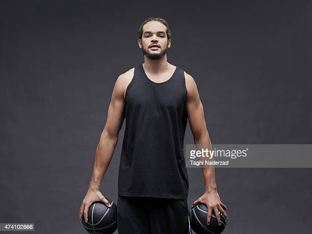 Basketball player Joakim Noah is photographed for Maxim Magazine on August 18 2014 in New York City ON EMBARGO UNTIL NOVEMBER 1 2015