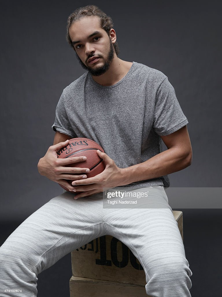 Basketball player <a gi-track='captionPersonalityLinkClicked' href=/galleries/search?phrase=Joakim+Noah&family=editorial&specificpeople=699038 ng-click='$event.stopPropagation()'>Joakim Noah</a> is photographed for Maxim Magazine on August 18, 2014 in New York City. PUBLISHED IMAGE. ON EMBARGO UNTIL NOVEMBER 1, 2015.