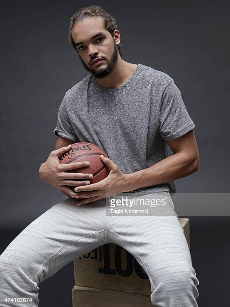 Basketball player Joakim Noah is photographed for Maxim Magazine on August 18 2014 in New York City PUBLISHED IMAGE ON EMBARGO UNTIL NOVEMBER 1 2015