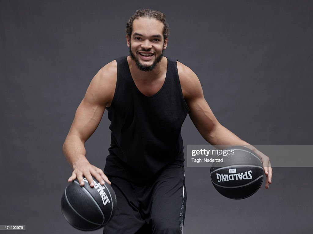 Basketball player <a gi-track='captionPersonalityLinkClicked' href=/galleries/search?phrase=Joakim+Noah&family=editorial&specificpeople=699038 ng-click='$event.stopPropagation()'>Joakim Noah</a> is photographed for Maxim Magazine on August 18, 2014 in New York City. ON EMBARGO UNTIL NOVEMBER 1, 2015.